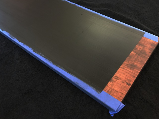 how to paint a chalkboard serving tray